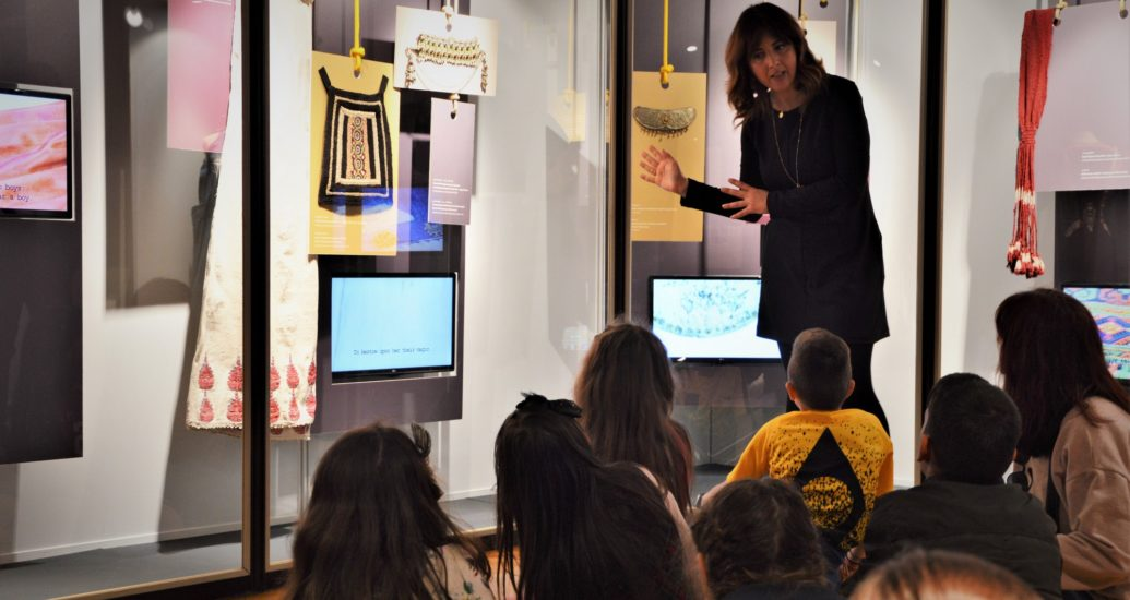 Επίσκεψη στο Μουσείου Ιστορίας της Ελληνικής Ενδυμασίας του Λυκείου Ελληνίδων.