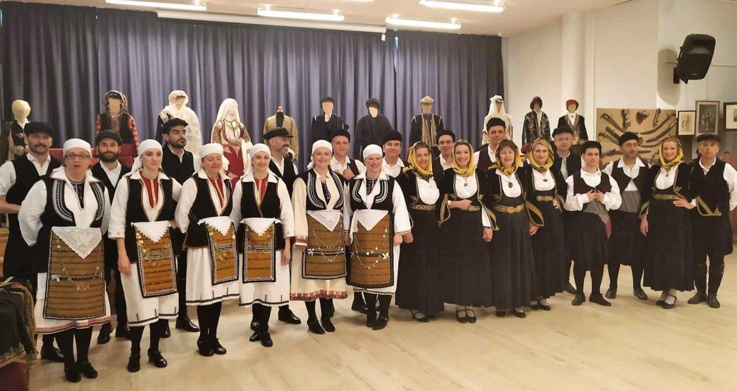 """Συμμετοχή του χορευτικού μας στην """"Έκθεση Ιστορικών Κειμηλίων"""" του δήμου Ηρακλείου Αττικής."""