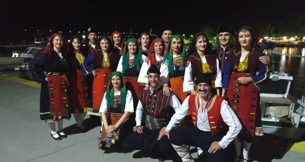Συμμετοχή στο «5ο Συναπάντημα παραδοσιακών χορών» Νέας Περάμου.