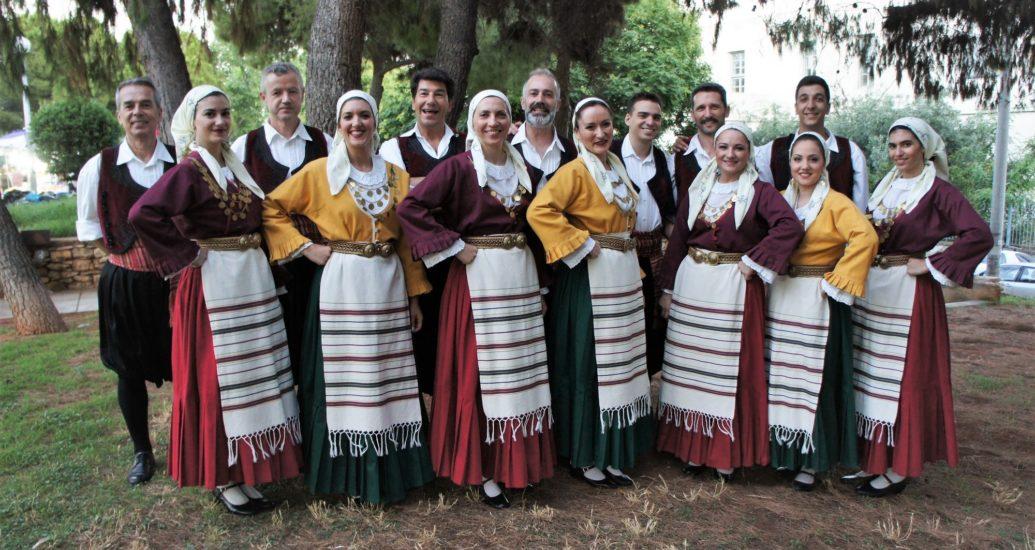Συμμετείχαμε χορευτικά στους εορτασμούς των Αγίων Αναργύρων Νέας Ιωνίας.
