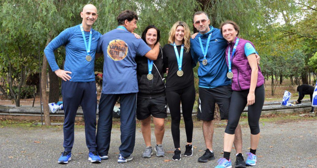 Οι XOE Runners έτρεξαν στον 37ο Μαραθώνιο της Αθήνας.
