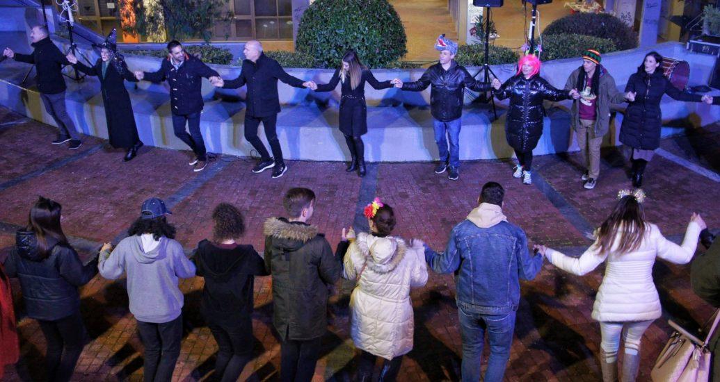 Χορέψαμε παραδοσιακά στο Ηρακλειώτικο καρναβάλι